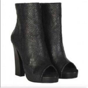 All Saints Black Boots Size 9